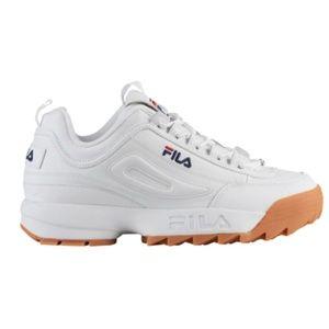 Fila disruptor 2 white sneakers nwob